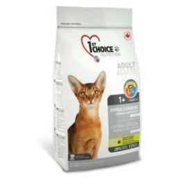 1st Choice 1st Choice для кошек гипоаллергенный беззерновой с уткой и картофелем - 2.72 кг