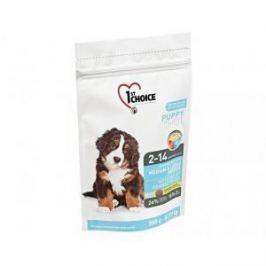 1st Choice 1st Choice Puppy для щенков средних и крупных пород с курицей - 350 гр