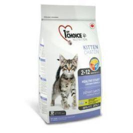 1st Choice 1st Choice Здоровый старт для котят с цыпленком - 5.44 кг