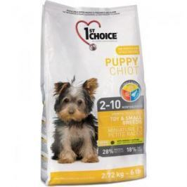 1st Choice 1st Choice Puppy для щенков миниатюрных и мелких пород с курицей - 350 гр