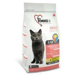 1st Choice 1st Choice Vitality Indoor для домашних кошек с цыпленком - 5.44 кг