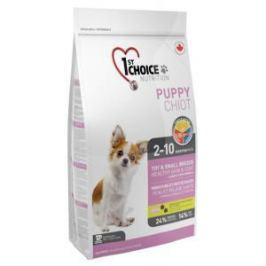 1st Choice 1st Choice Puppy для щенков декоративных пород с ягненком, рыбой и рисом - 2.72 кг