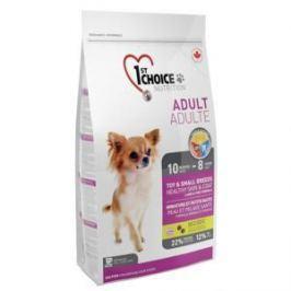 1st Choice 1st Choice для декоративных собак с ягненком, рыбой и рисом - 2.72 кг
