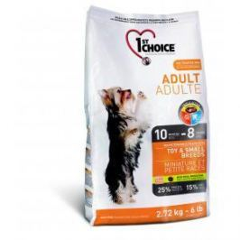 1st Choice 1st Choice Adult для взрослых собак миниатюрных и мелких пород с курицей - 7 кг