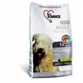 1st Choice 1st Choice Adult для взрослых собак гипоаллергенный с уткой и картофелем - 12 кг