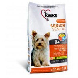 1st Choice 1st Choice Senior для пожилых собак миниатюрных и мелких пород с курицей - 2.72 кг