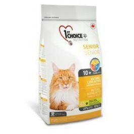 1st Choice 1st Choice Mature or Less Active для кошек с цыпленком - 5.44 кг