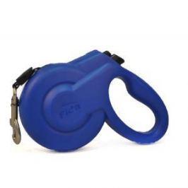 Fida Fida Extendable Стильная рулетка 5м с выдвижной лентой для собак средних пород голубая