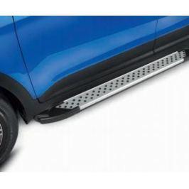 Пороги из алюминиевого профиля Hyundai Creta 2016-