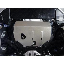 Защита картера и кпп (алюминий) 4 мм ТСС ZKTCC00015 для Mazda 3 2013-2017
