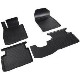 Коврики салона (полиуретановые), чёрные Norplast NPA11-C55-050 для Mazda 3 2013-2017