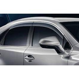 Дефлекторы окон LEXUS, с хромированной отделкой 0861178810 для Lexus NX 2015 г.в по н.в.
