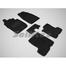 Коврики салона текстильные 3D, чёрные Seintex 87330 для LADA X Ray-