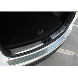 Накладка на задний бампер, нерж. сталь OEM-Tuning CNT35-CX5-011 для Mazda CX-5 (2015 - 2017)