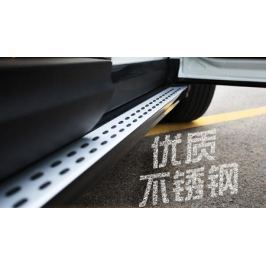 Пороги, боковые подножки FuRuiSi для Renault Koleos 17 -