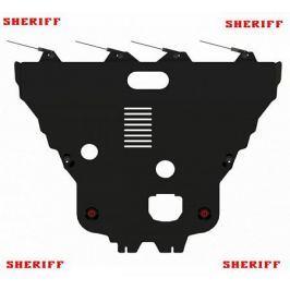Защита картера и кпп стальная SHERIFF для SsangYong Tivoli 2017 -