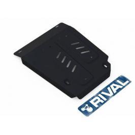 Защита топливного бака, сталь Rival 111.4718.1 для Renault Duster 2011-