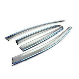 Дефлекторы с хромированными элементами для Ford Mondeo ( 2014 - по н.в. )