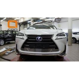 Решетка в бампер нижняя Can Otomotiv LENX274610 для Lexus NX 2015 г.в по н.в.