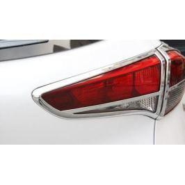 Хромированные окантовки оптики, фар и фонарей для Hyundai Tucson (2015- по н.в. )