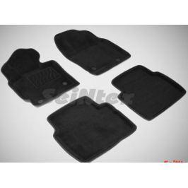 Коврики салона текстильные 3D, серые Seintex 84733 для Mazda CX-5 (2015 - 2017)