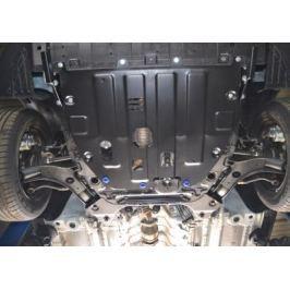 Защита картера двигателя и кпп АВТОБРОНЯ для SsangYong Tivoli 2017 -