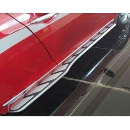 Боковые подножки, пороги SUV Style для Ssangyong Tivoli