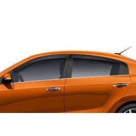 Дефлекторы боковых окон (комплект) Hyundai KIA R8222H0100 для Kia Rio 2017-