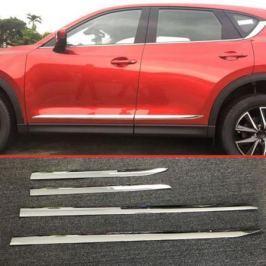 Молдинги декоративные на боковые двери CHN для Mazda CX-5 2017 -