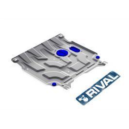 Защита картера и кпп алюминиевая RIVAL для KIA RIO 2017 -