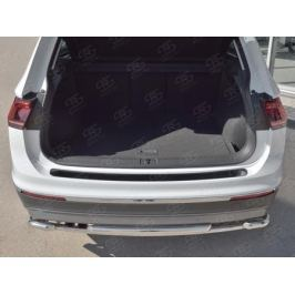 Накладка на задний бампер VGN-002724 для Volkswagen Tiguan 2017-