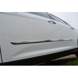 Молдинг дверной, нерж., 4 части (универсальный) Omsa Line 9696131 для Renault Duster 2011-