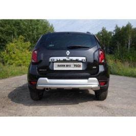 Защита задняя 60,3 мм ТСС RENDUST12-13 для Renault Duster 2011-