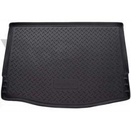 Коврик багажника (полиуретан), чёрный (HB) Norplast NPL-P-22-181 для FORD Focus III (2011 - 2015 )