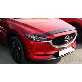 Дефлектор - отбойник капота SIM для Mazda CX-5 2017 -