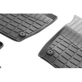 Коврики салона (литьевые), чёрные (2WD) Rival 0064701001 для Renault Duster 2011-