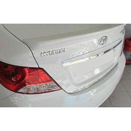 Спойлер на дверь багажника, грунт Omsa Line 3214-501 для Hyundai Solaris 2011-