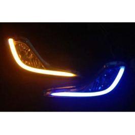 Штатные неоновые дневные ходовые огни (ДХО), комлект. OEM DRL DRL30950 для Hyundai Solaris 2011-