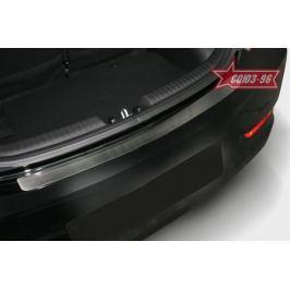 Накладка на наруж. порог багажника без логотипа 5D Souz-96 HSOL.36.3690 для Hyundai Solaris 2011-