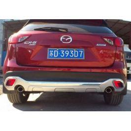 Накладка на задний бампер OEM-Tuning CNT35-CX5-002 для Mazda CX-5 (2015 - 2017)
