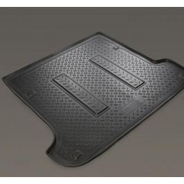 Коврик багажника (полиуретан), чёрный, SD (для автомоб. со склад. сидениями) Norplast NPL-P-31-36 для Hyundai Solaris 2011-