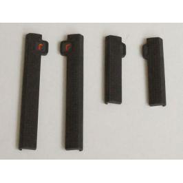 Защита дверей R-STICK (универсальная), черная, комплект. Armster V00170 для Nissan Qashqai 13-