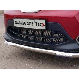 Решетка радиатора нижняя (лист) (Сборка РФ) ТСС NISQASHSPB15-22 для Nissan Qashqai 13-
