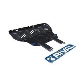 Защита картера и КПП, сталь (V - все; Увеличенная) Rival 111.1825.1 для Ford Kuga 2017-