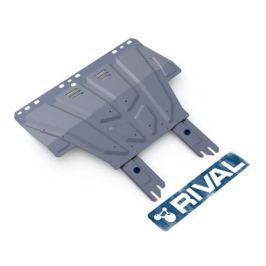 Защита картера и КПП, алюминий Rival 333.1850.1 для Ford Kuga 2017-