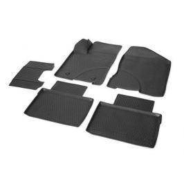 Коврики салона (полиуретан), чёрные Rival 16006001 для LADA Vesta 2015-