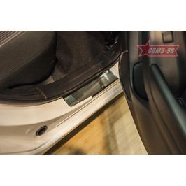 Накладка на внутренние пороги без логотипа Souz-96 MAZ3.31.3928 для Mazda 3 2013-2017