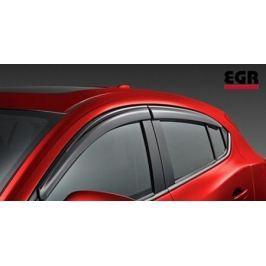 Дефлекторы боковых окон, темные ( HB ) EGR 92450033B для Mazda 3 2013-2017