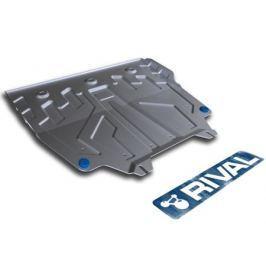 Защита картера и КПП алюминий Rival 333.3817.1 для Mazda 3 2013-2017