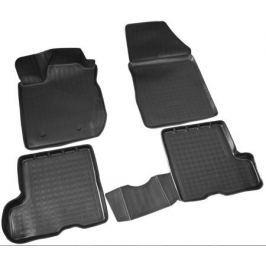 Коврики салона (полиуретан), чёрные (с ящиком под сиденьями) Norplast NPA11-C94-751 для LADA X Ray-